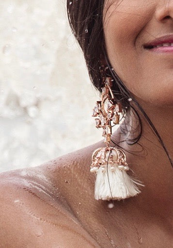 Empress Tassel Earrings