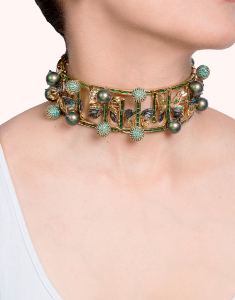 Carousel Couture Choker