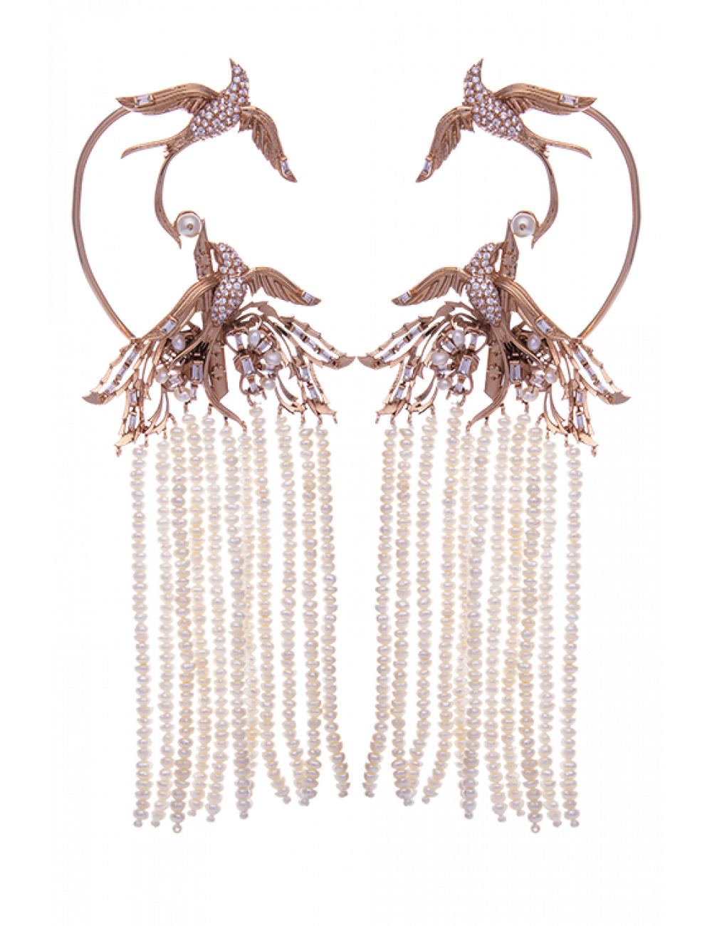 LOPHORINA CHANDELIER EARCUFF (ANTIQUE FINISH)