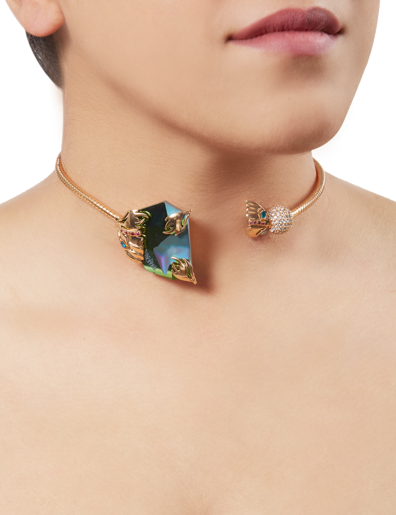 Glasswing Choker