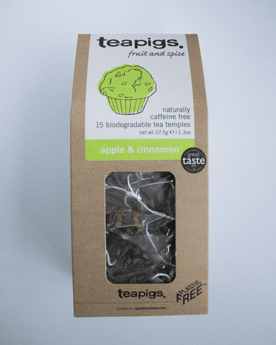 Teapigs | Apple & Cinnamon Herbal Tea - Blush Grove