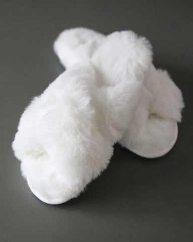 Cloud 9 Fuzzy Slippers - Blush Grove