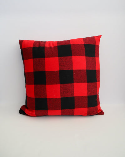 Festive Plaid | Cushion Cover & Insert - Blush Grove