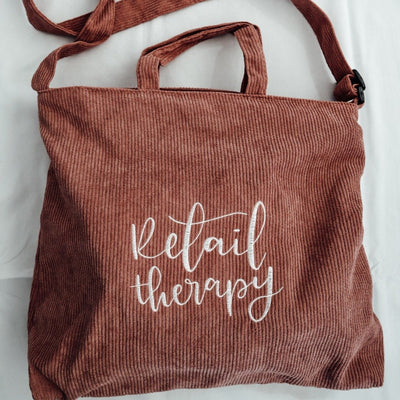 Retail Therapy | Tote Bag - Blush Grove