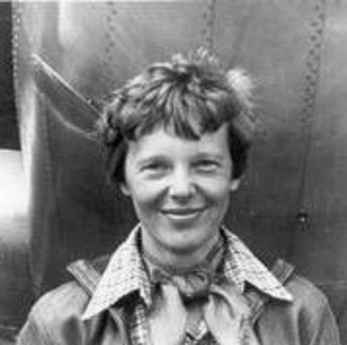 You go, girl – Amelia Earhart