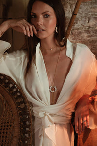 SALOME x Stephanie Waxberg Tribal pearl necklace