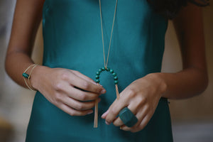 NOLA Malachite Necklace