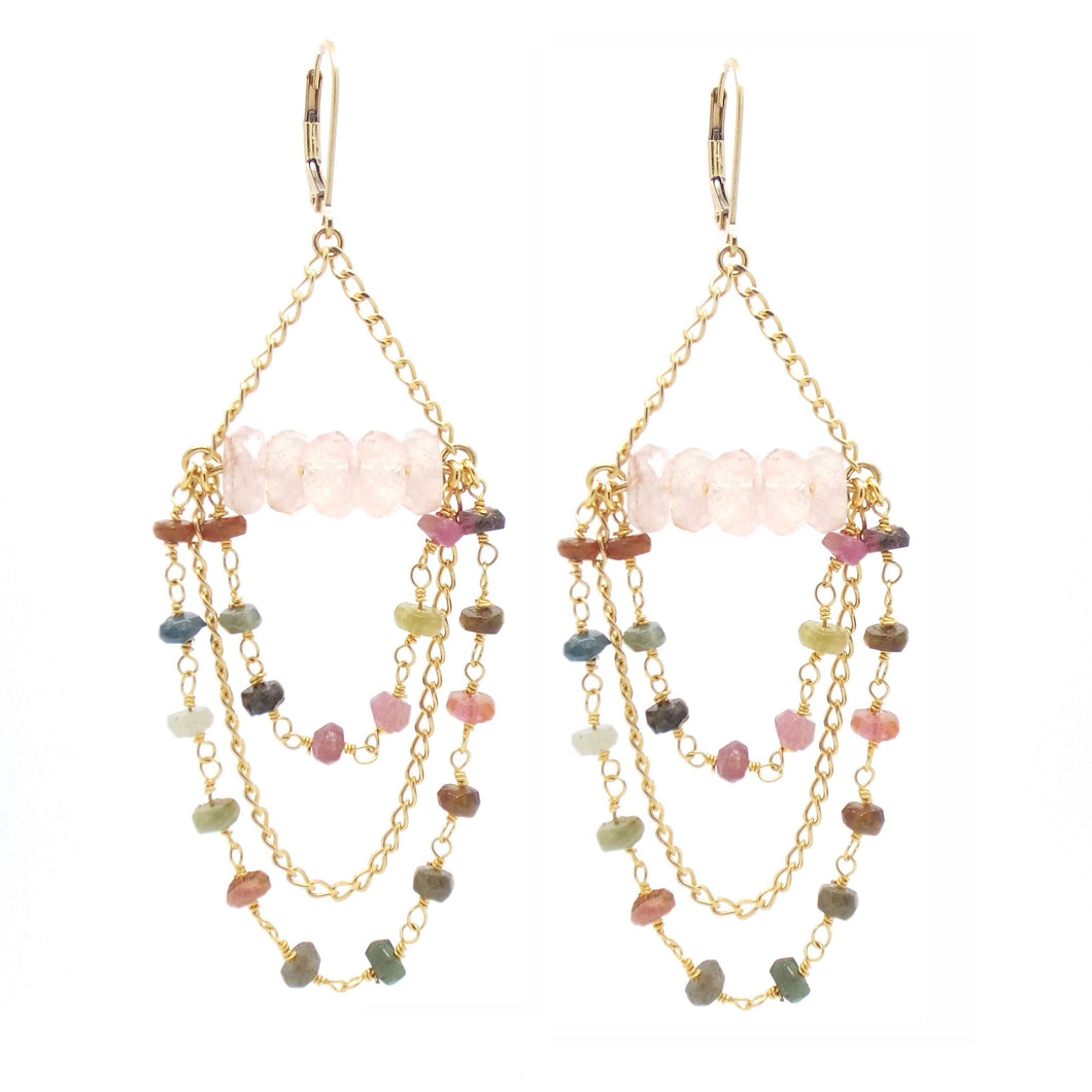 CARINA Chandelier earrings