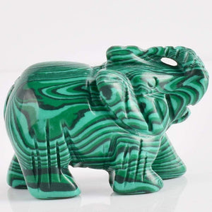 Malachite Elephant