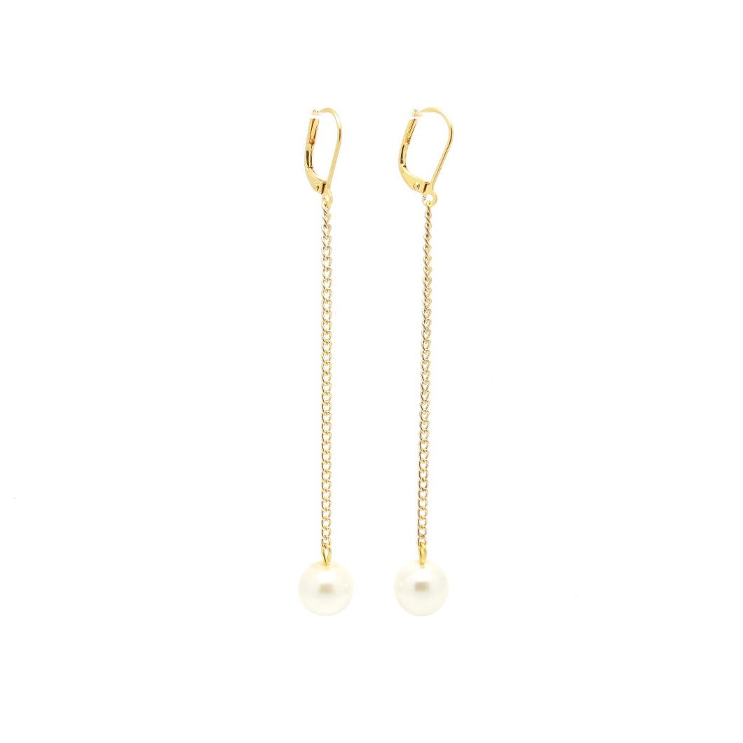 NOLA Swing Pearl Earrings