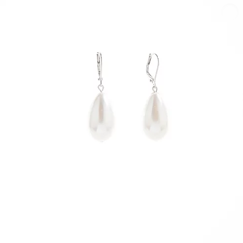 Girl With A Pearl Earrings - Silver