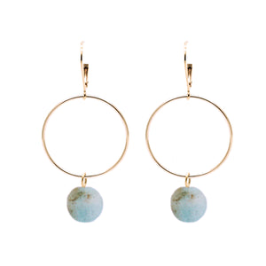 Bridal Collection Lorna Aquamarine Earrings