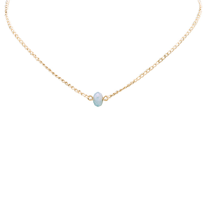Bridal Collection Aquamarine Necklace