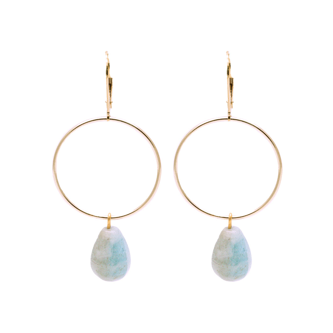 Bridal Collection Signature Aquamarine Earrings