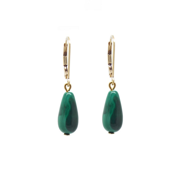 Penelope 'Girl With A Malachite' Earrings