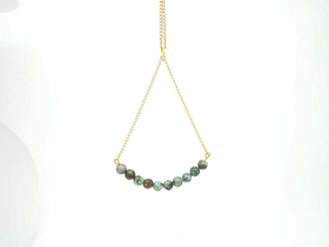 African Turquoise Rebel Necklace