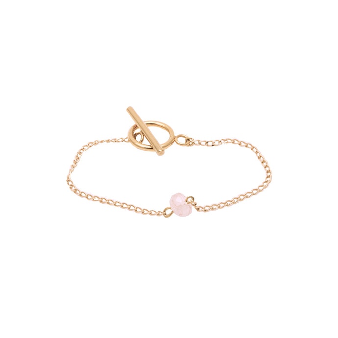 Bridal Collection Rose Quartz Bracelet
