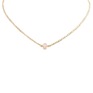 Bridal Collection Rose Quartz Necklace
