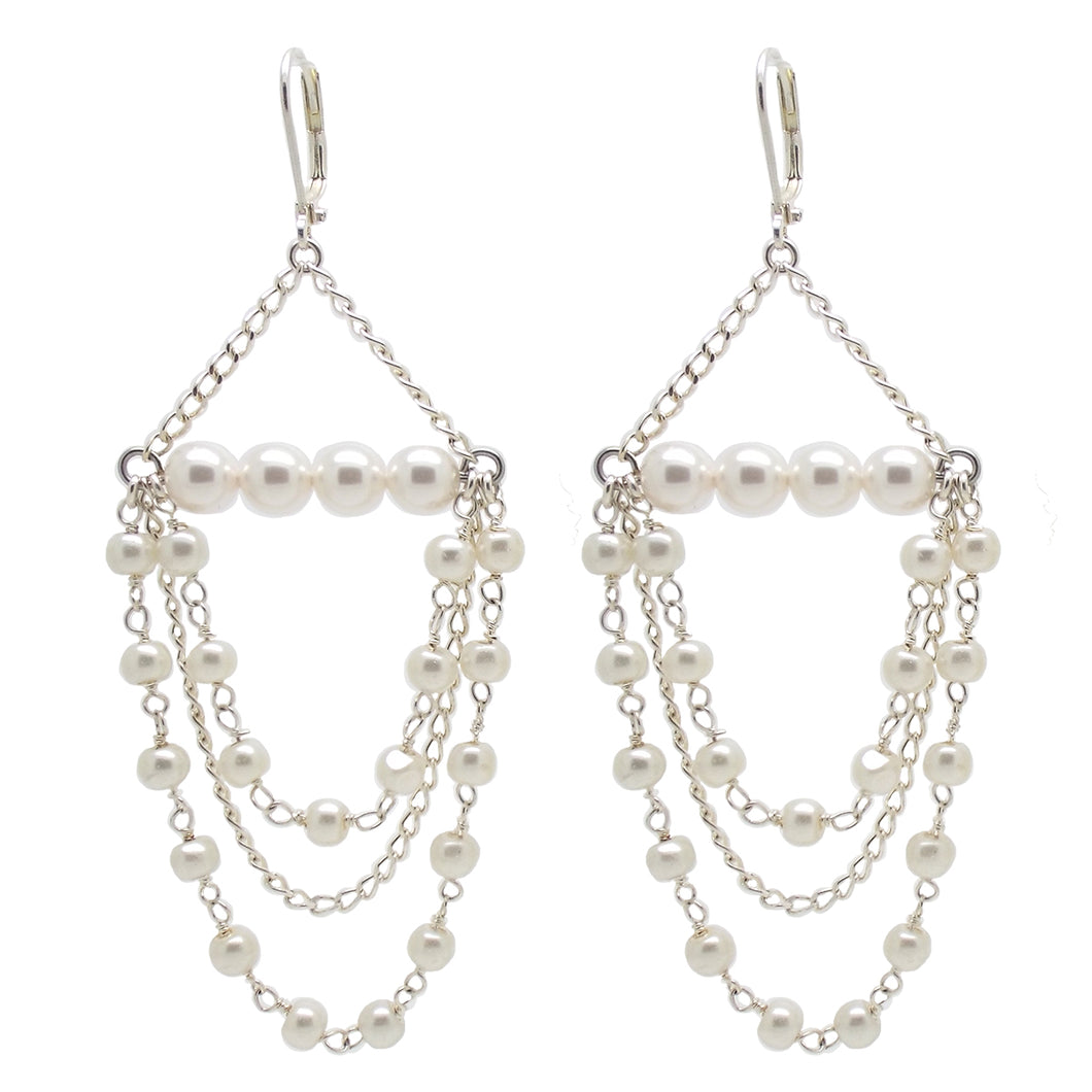 Bridal Collection Tilly Pearl Earrings