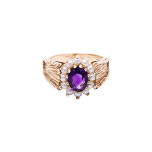 Bridal Collection Vintage Amethyst Ring