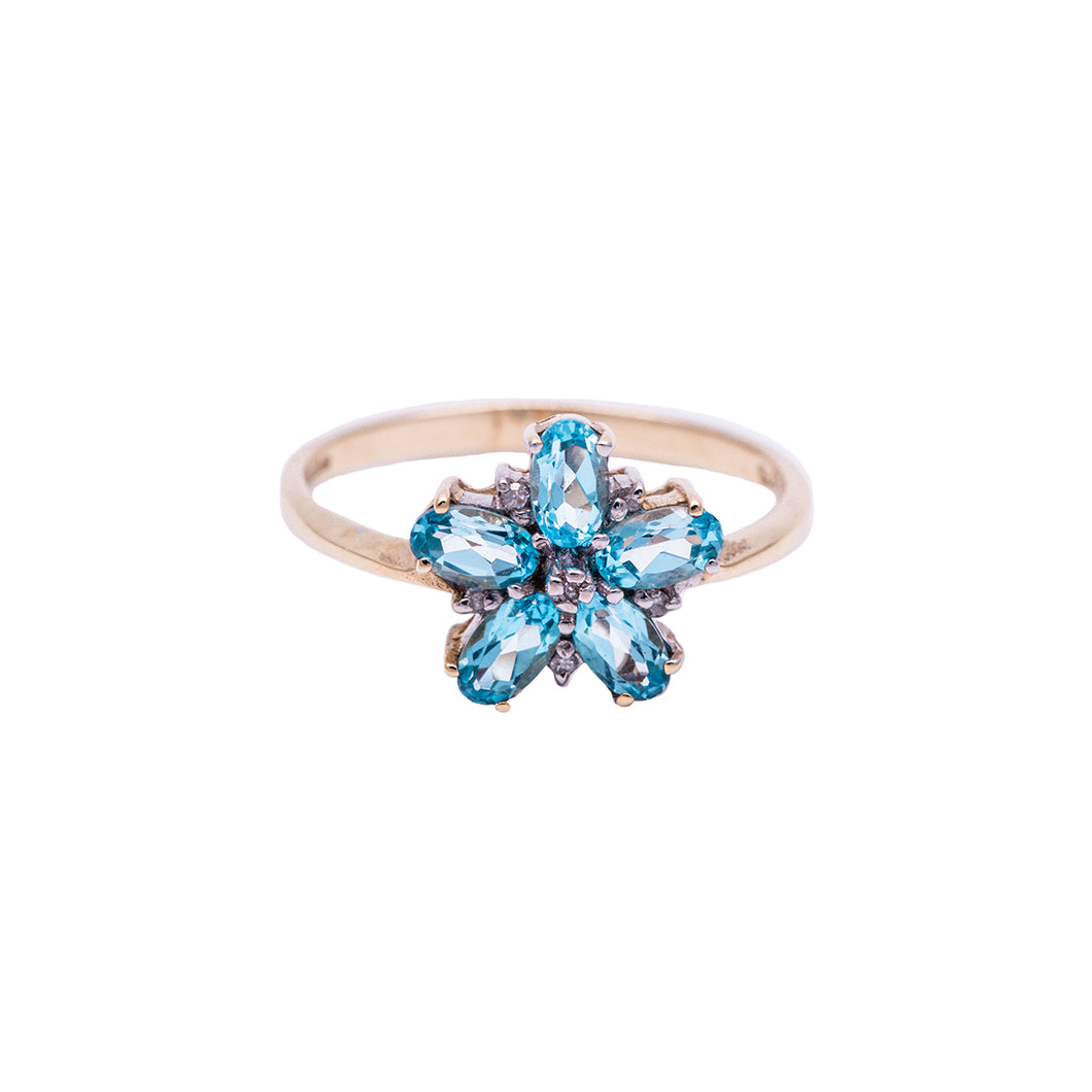Bridal Collection Vintage Topaz Ring