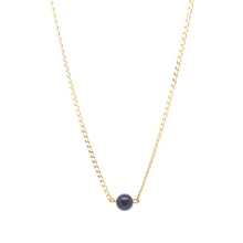 SALOME x Stephanie Waxberg goldstone necklace