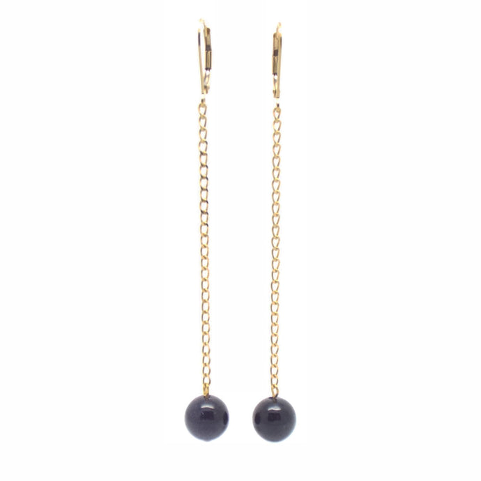 SALOME x Stephanie Waxberg goldstone Stephanie Waxberging earrings