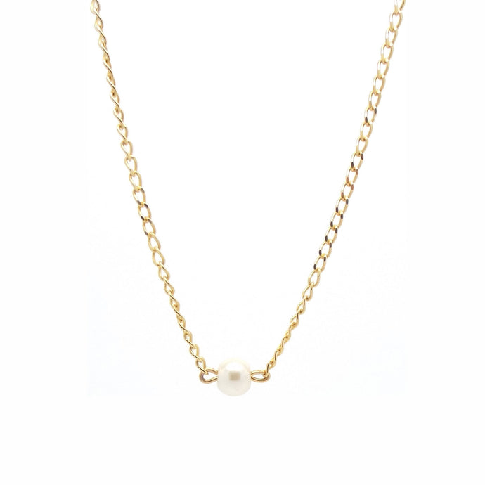 SALOME x Stephanie Waxberg pearl necklace