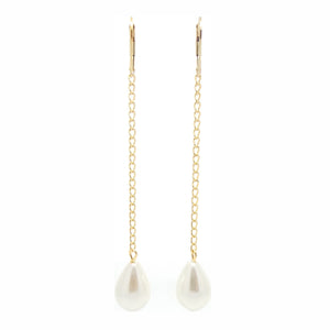 SALOME x Stephanie Waxberg Pearl Swing Earrings