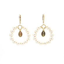 SALOME x Stephanie Waxberg Tribal pearl earrings