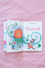 Load image into Gallery viewer, Vintage Disney Cinderella Book