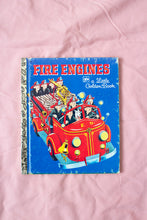 Load image into Gallery viewer, Vintage Little Golden Books Fire Engines
