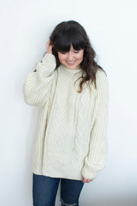Women's Vintage Fisherman Sweater