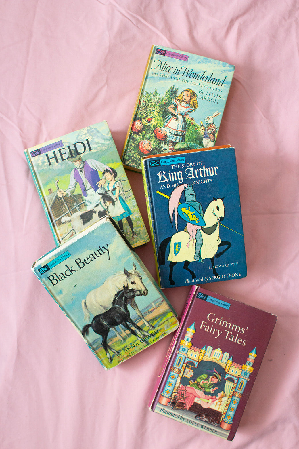 Vintage Companion Library Classic Book Set