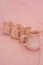 Load image into Gallery viewer, Vintage Pink Speckled Mugs