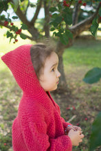Load image into Gallery viewer, Vintage Toddler Hand Knit Hoodie