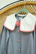 Load image into Gallery viewer, Vintage Polly Finders Kids Sailor Dress