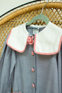 Vintage Polly Finders Kids Sailor Dress