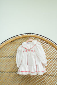 Vintage Baby Girl White Dress