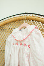 Load image into Gallery viewer, Vintage Baby Girl White Dress