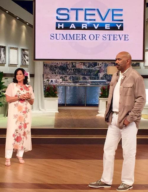 The Travel Mom on The Steve Harvey Show