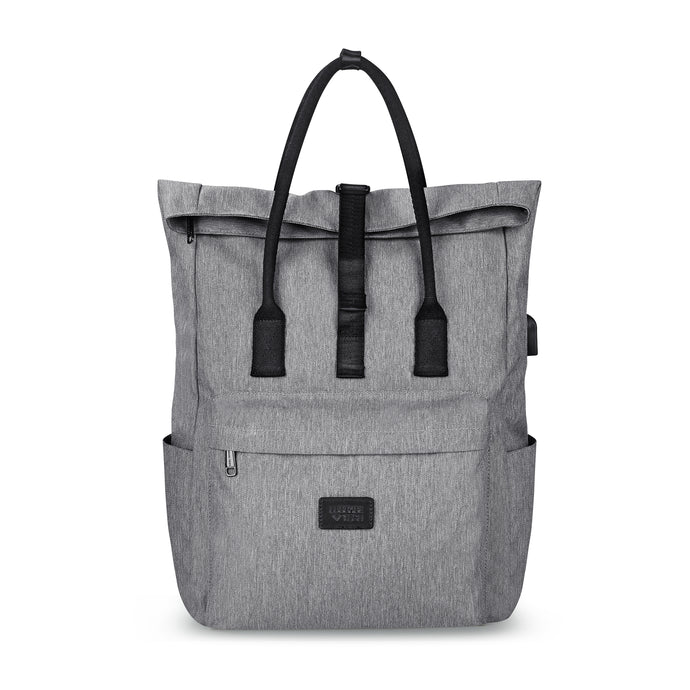 SMART Tote Backpack Silver - Luggage Tech
