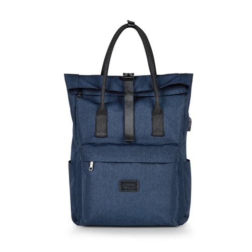 SMART Tote Backpack Navy - Luggage Tech