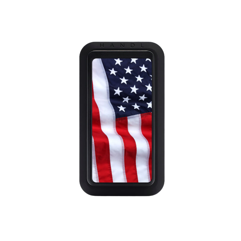 American USA Flag Black HANDLStick - HANDL New York