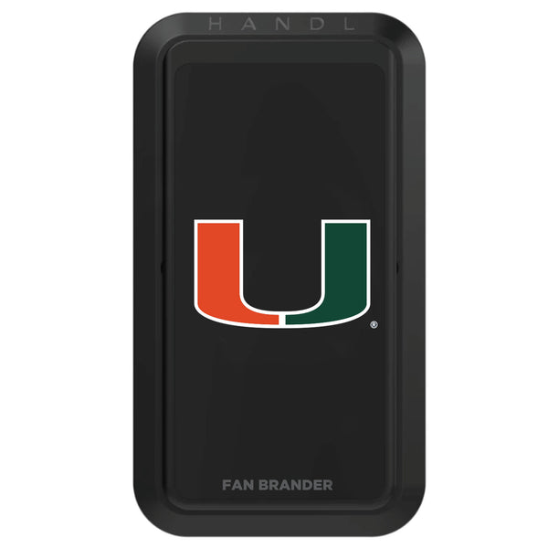 Miami Hurricanes NCAA Black HANDLStick