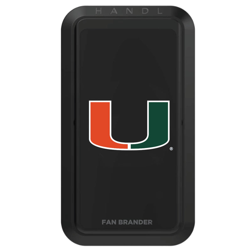 Miami Hurricanes NCAA Black HANDLstick - HANDL New York