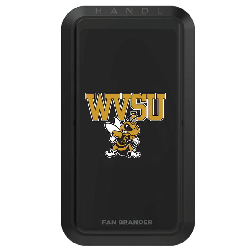 West Virginia State Univ Yellow Jackets NCAA Black HANDLstick - HANDL New York
