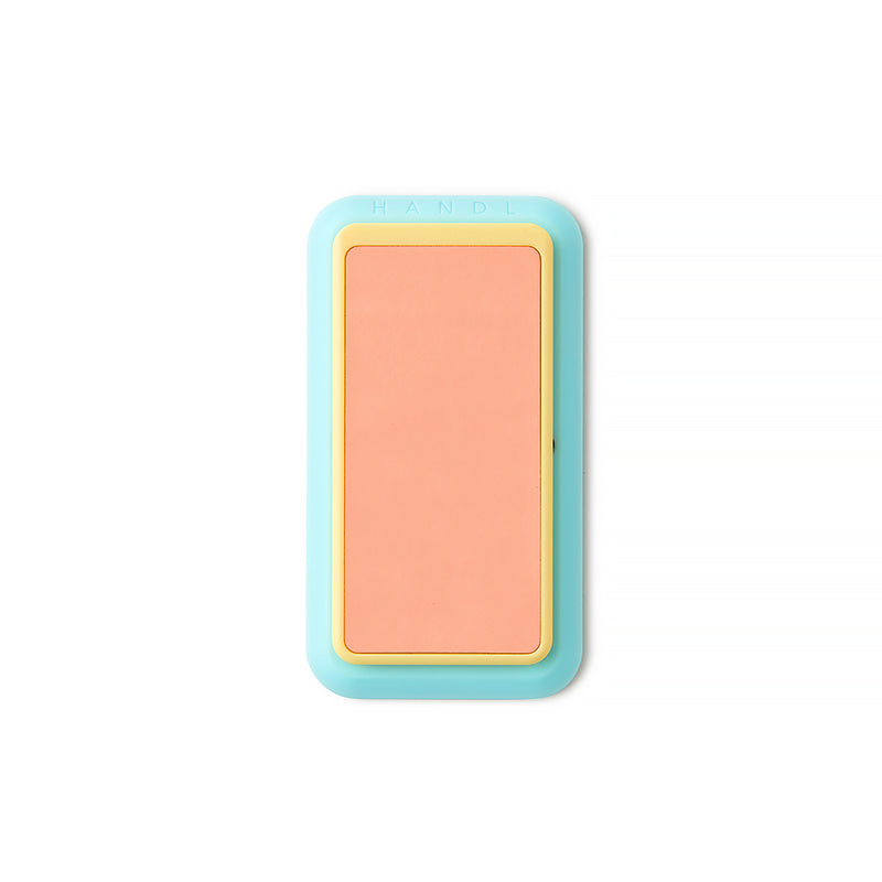 Coral and Mint Glow in the Dark HANDLstick