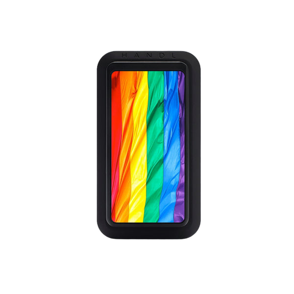 LGBTQ Pride Flag Black HANDLStick - HANDL New York