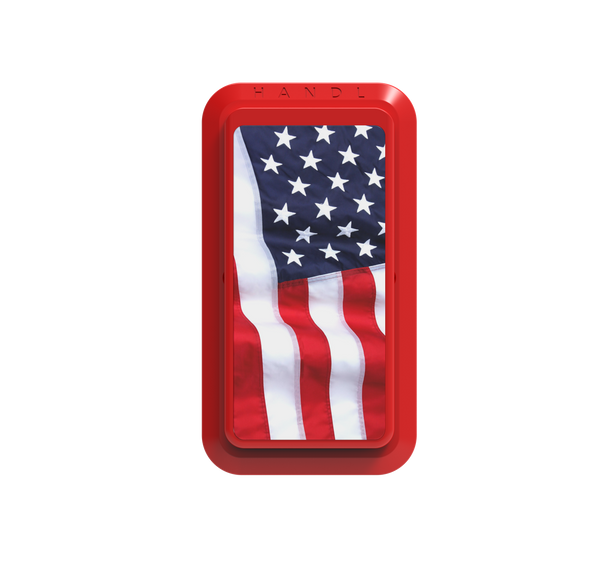 American USA Flag Red HANDLStick